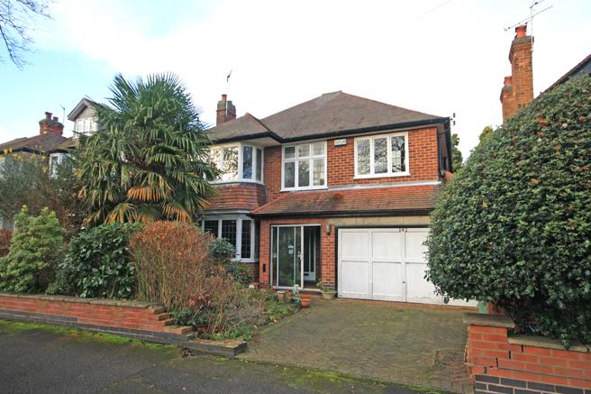 4 Bedrooms Detached House for sale in 182 Harrow Road, Wollaton, Nottinghamshire NG8 1FN