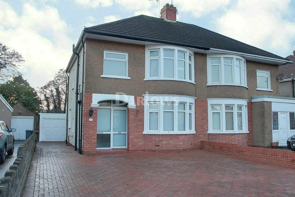 3 Bedrooms Semi Detached House for sale in Heol Waun Y Nant, Whitchurch