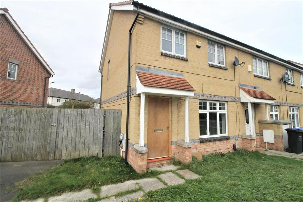 3 Bedrooms End Of Terrace House for sale in Urswick Close, Middlesbrough