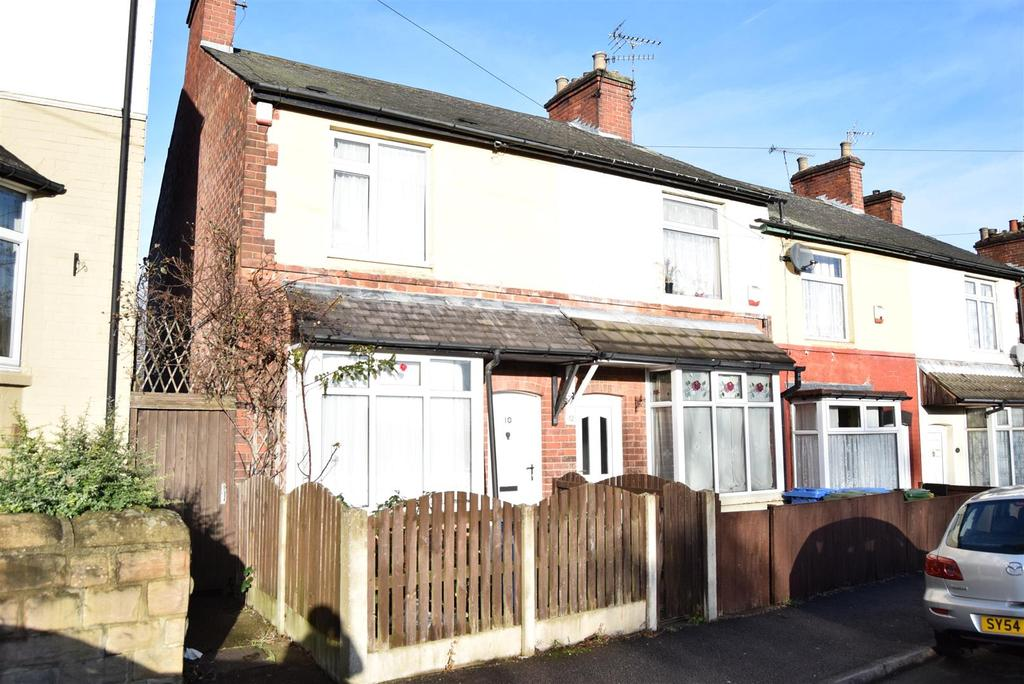 2 Bedrooms End Of Terrace House for sale in Howard Road, Mansfield