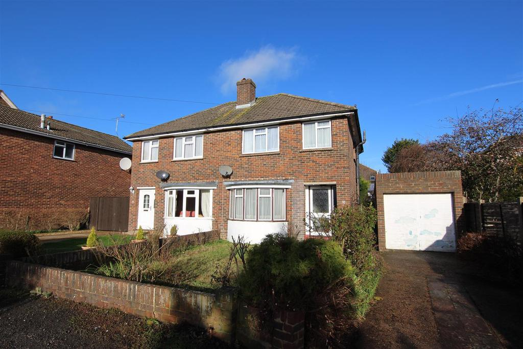 3 Bedrooms Semi Detached House for sale in Slimbridge Road, Burgess Hill