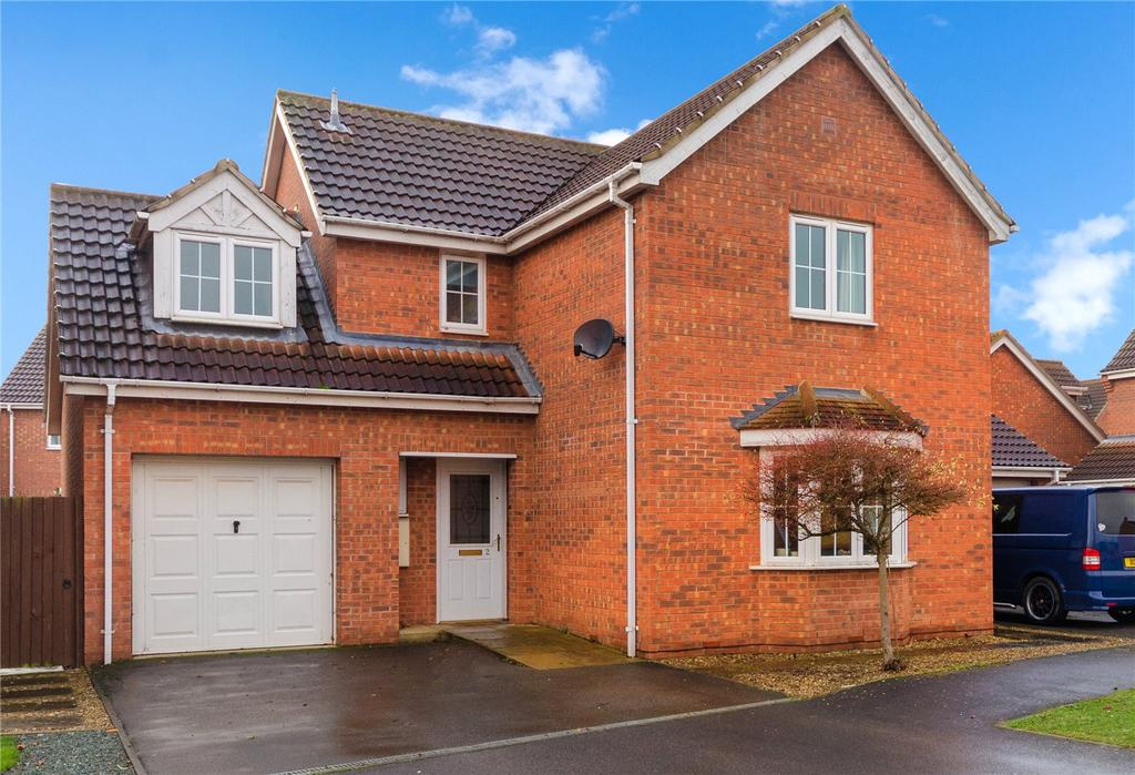 4 Bedrooms Detached House for sale in Wheat Grove, Sleaford, Lincolnshire, NG34