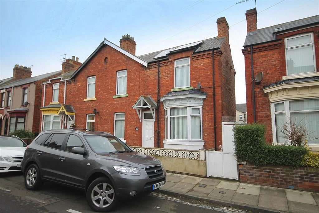 3 Bedrooms Semi Detached House for sale in Lansdowne Road, Hartlepool