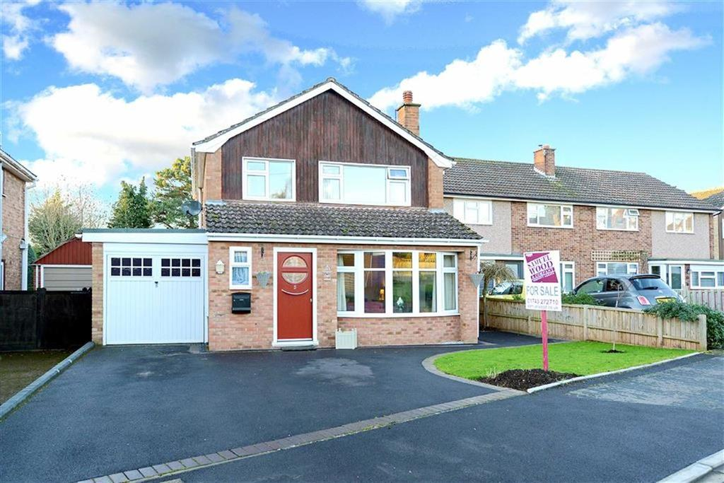 3 Bedrooms Detached House for sale in Highfields, Shrewsbury