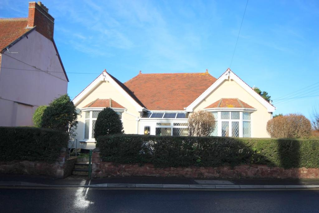 3 Bedrooms Detached Bungalow for sale in Doniford Road, Watchet TA23