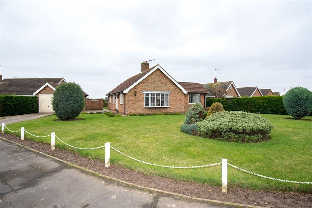 3 Bedrooms Detached Bungalow for sale in Prince William Drive, Butterwick, Boston, Lincolnshire