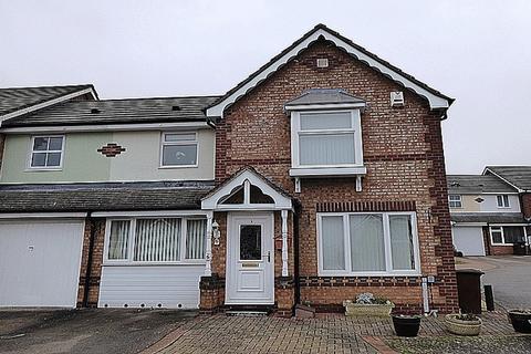3 bedroom end of terrace house for sale - Butts Croft Close, East Hunsbury, Northampton, NN4