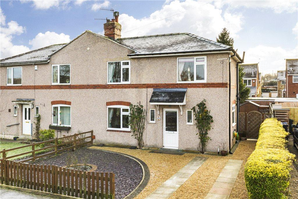 3 Bedrooms Semi Detached House for sale in Prospect Road, Burley in Wharfedale, Ilkley, West Yorkshire
