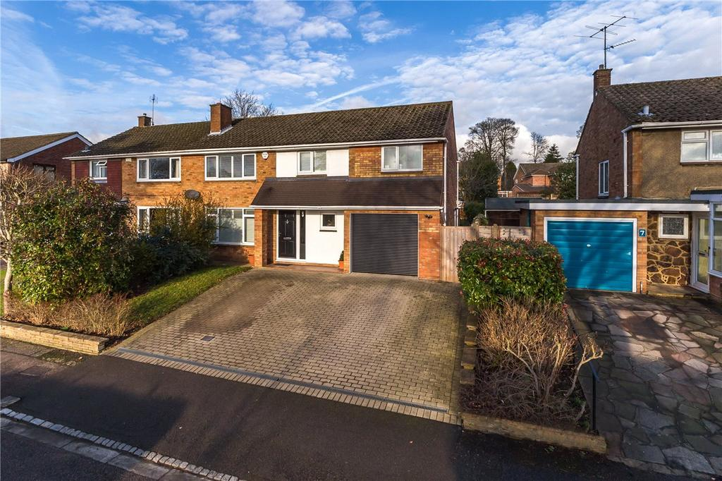 4 Bedrooms Semi Detached House for sale in Greenway, Harpenden, Hertfordshire