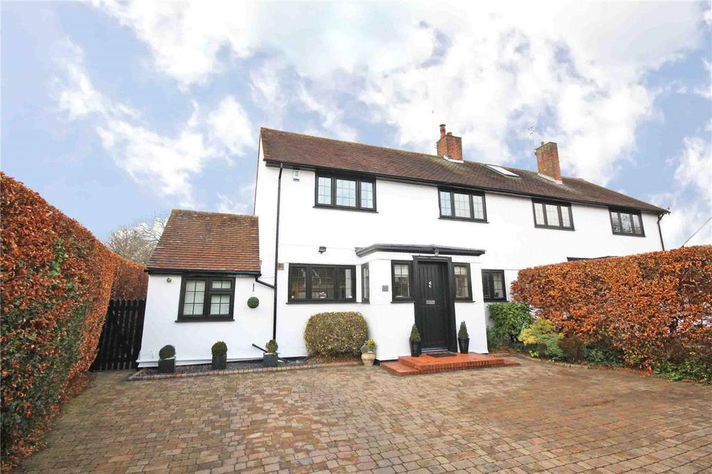 4 Bedrooms Semi Detached House for sale in Handside Lane, Welwyn Garden City, Hertfordshire