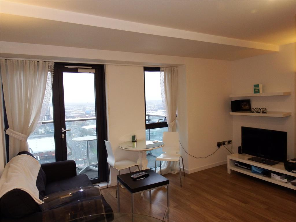 Studio Flat for sale in Bridgewater Place, Water Lane, Leeds, West Yorkshire, LS11