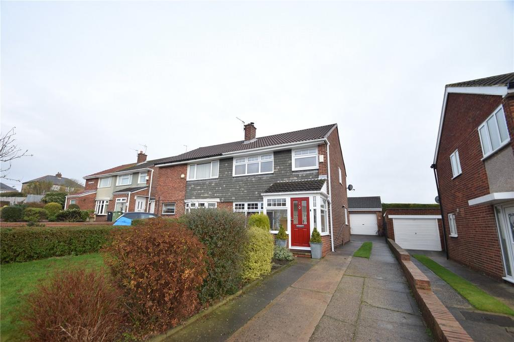 3 Bedrooms Semi Detached House for sale in Melrose Avenue, Murton, Seaham, Co Durham, SR7