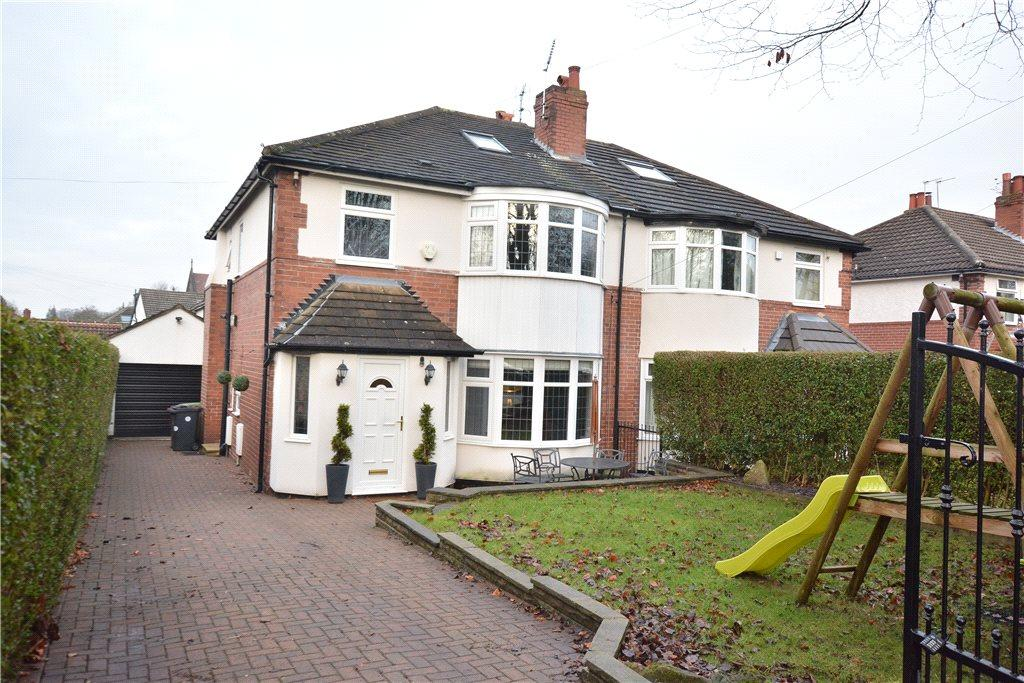 4 Bedrooms Semi Detached House for sale in The View, Roundhay, Leeds