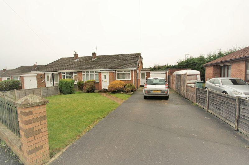 2 Bedrooms Semi Detached Bungalow for sale in Johnson Grove, Norton, Stockton, TS20 1BX