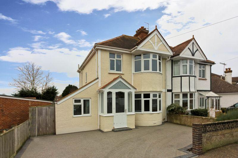 4 Bedrooms Semi Detached House for sale in Charmandean Road, Worthing
