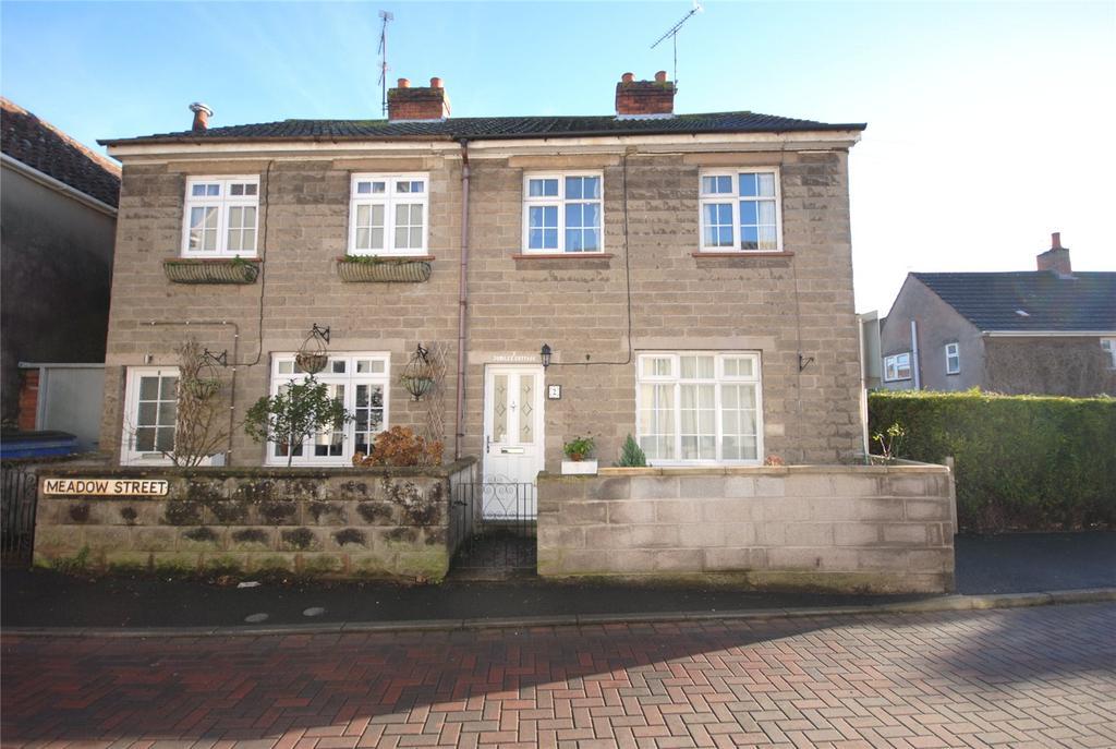 3 Bedrooms Semi Detached House for sale in Jubilee Cottages, Meadow Street, Axbridge, Somerset, BS26