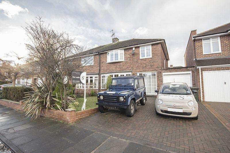 3 Bedrooms Semi Detached House for sale in Eastcliffe Avenue, Gosforth