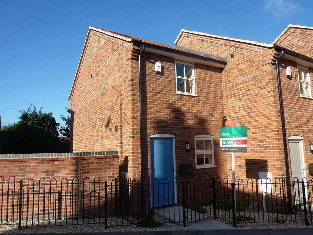 2 Bedrooms End Of Terrace House for sale in Bolham Lane, Retford