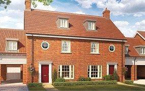 4 Bedrooms Terraced House for sale in Birch Gate, Silfield Road, Wymondham, Norfolk, NR18