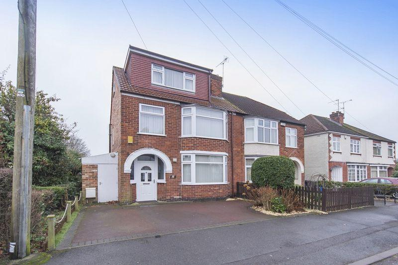 4 Bedrooms Semi Detached House for sale in ISMAY ROAD, CHADDESDEN