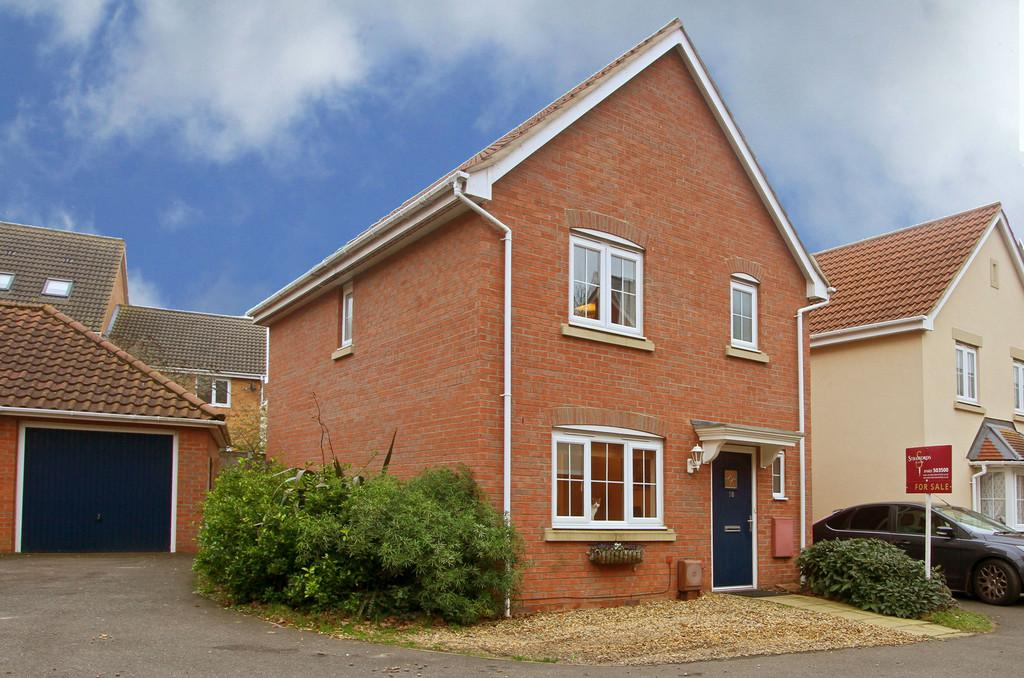3 Bedrooms Link Detached House for sale in Pochard Street, Costessey