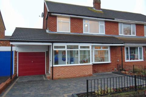 3 bedroom semi-detached house for sale - Weardale Avenue, Forest Hall, Newcastle Upon Tyne