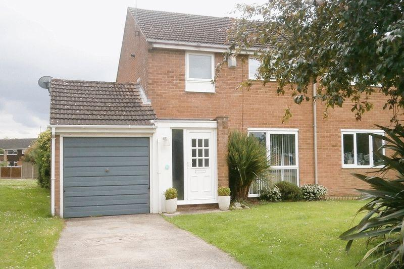 3 Bedrooms Semi Detached House for sale in Plantation Crescent, Tewkesbury