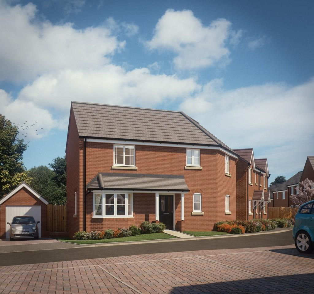 3 Bedrooms Semi Detached House for sale in Plot 28 The Boston, Hartwell Grange