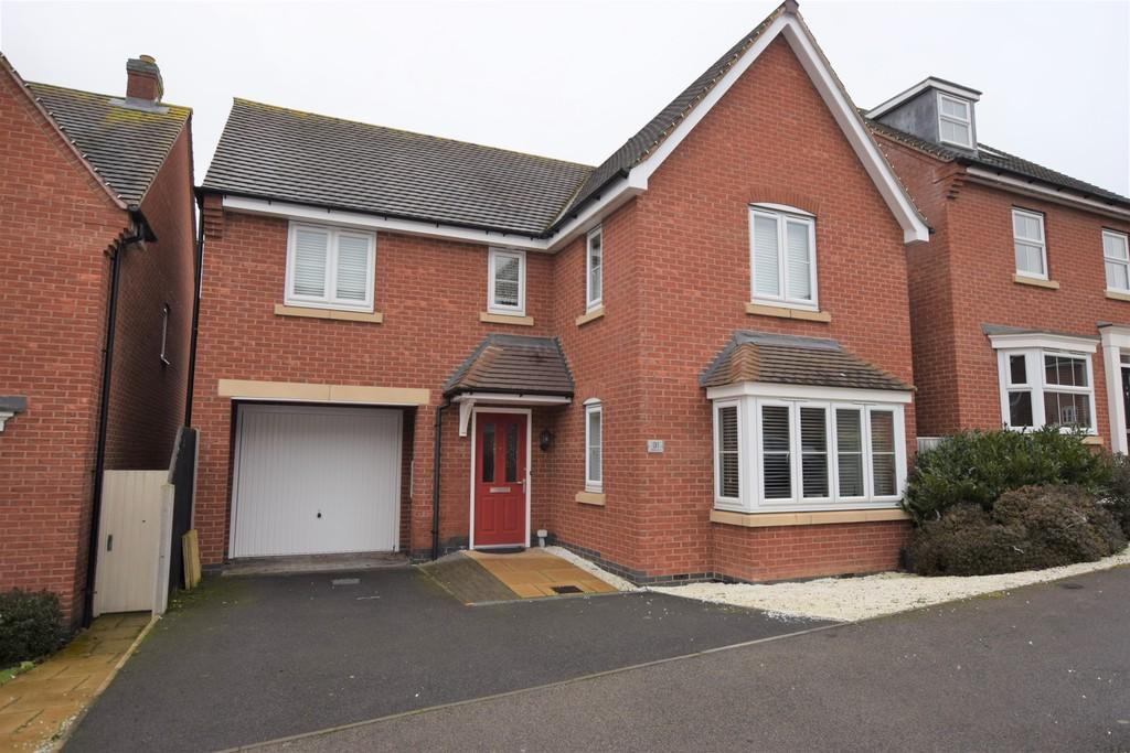 4 Bedrooms Detached House for sale in Oaklands Drive, Earl Shilton