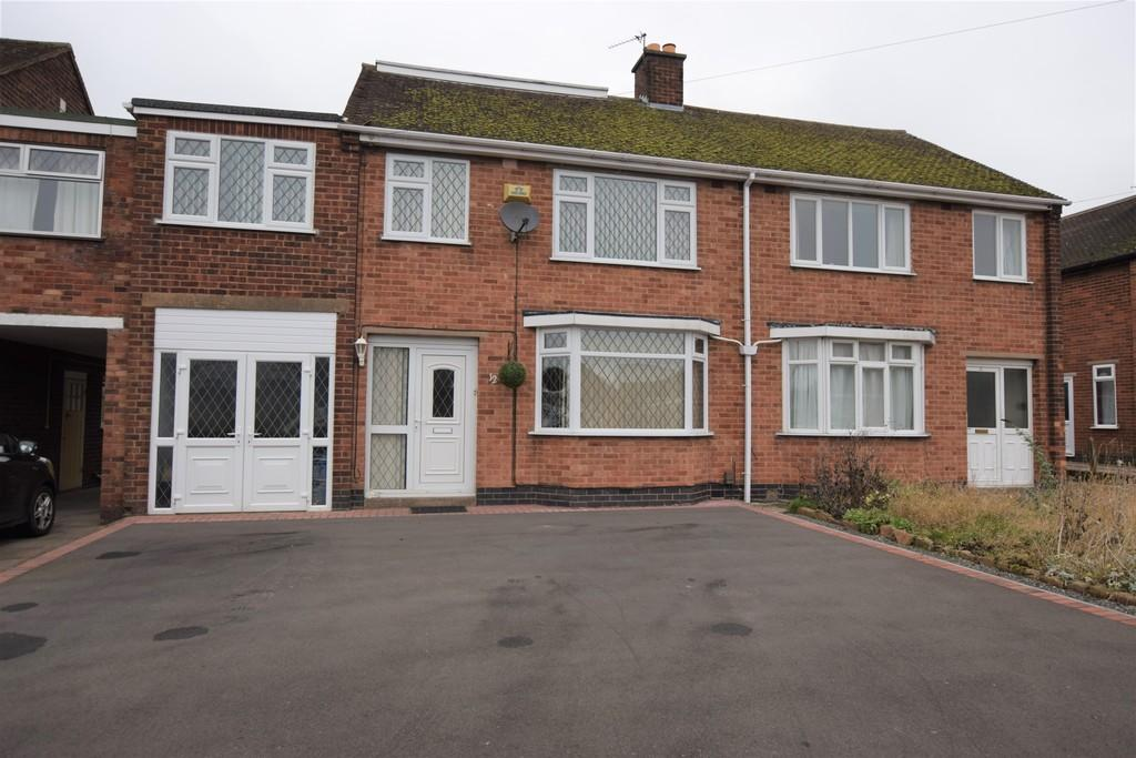 4 Bedrooms Semi Detached House for sale in York Road, Hinckley