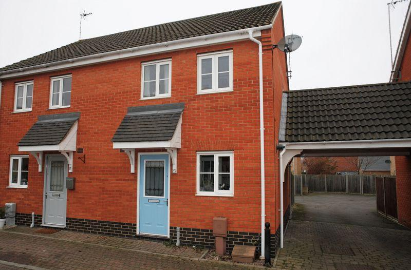 2 Bedrooms Semi Detached House for sale in Selway Drive, Bury St Edmunds