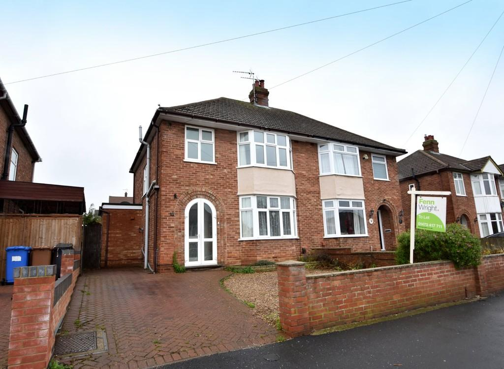 3 Bedrooms Semi Detached House for sale in Ashcroft Road, Ipswich, IP1 6AE