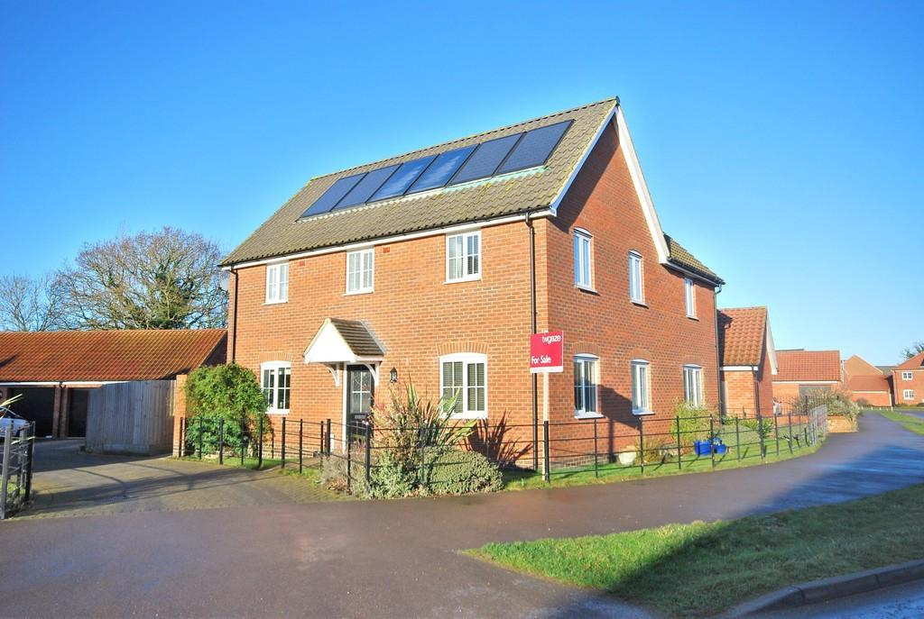 5 Bedrooms Detached House for sale in Albini Way, Wymondham