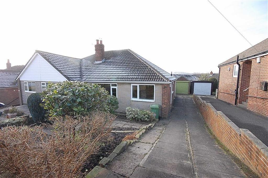 2 Bedrooms Semi Detached Bungalow for sale in Rowley Drive, Lepton, Huddersfield, HD8