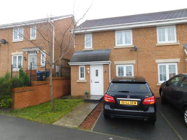 3 Bedrooms Semi Detached House for sale in BEECHWOOD CLOSE, SACRISTON, DURHAM CITY : VILLAGES WEST OF