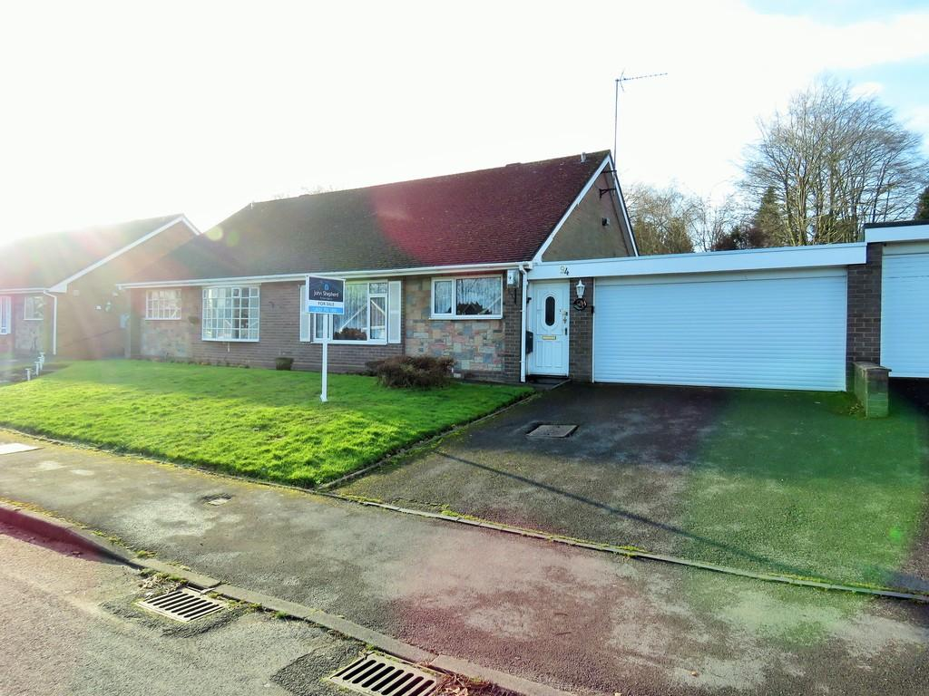 2 Bedrooms Semi Detached Bungalow for sale in Mereside Way, Solihull