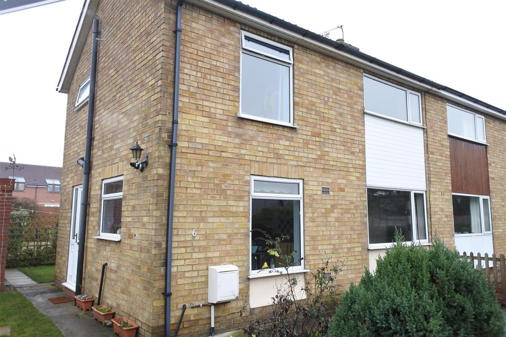 3 Bedrooms Semi Detached House for sale in Kingston Close, Northallerton
