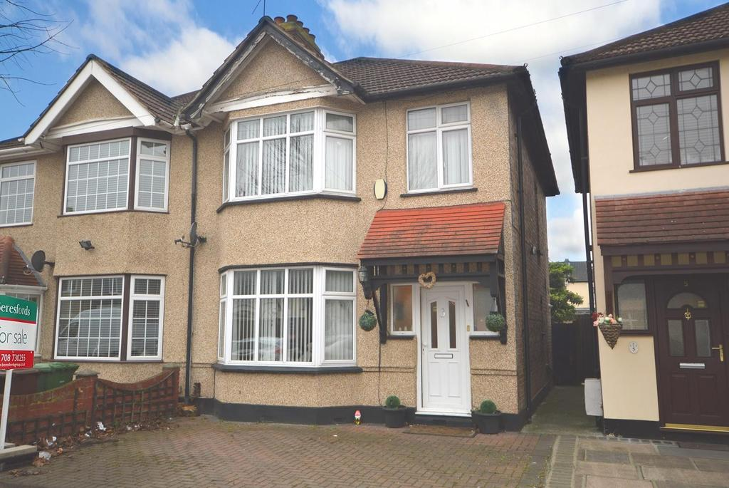 3 Bedrooms Semi Detached House for sale in Beresford Gardens, Chadwell Heath, Romford, RM6