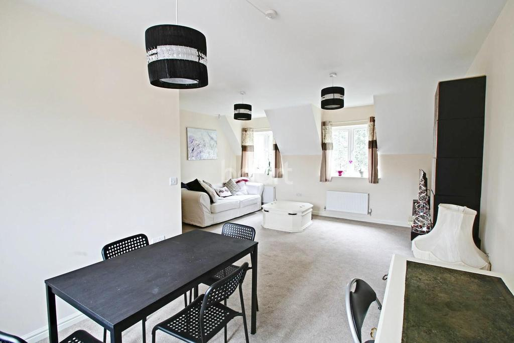 2 Bedrooms Flat for sale in Fowke St, Rothley