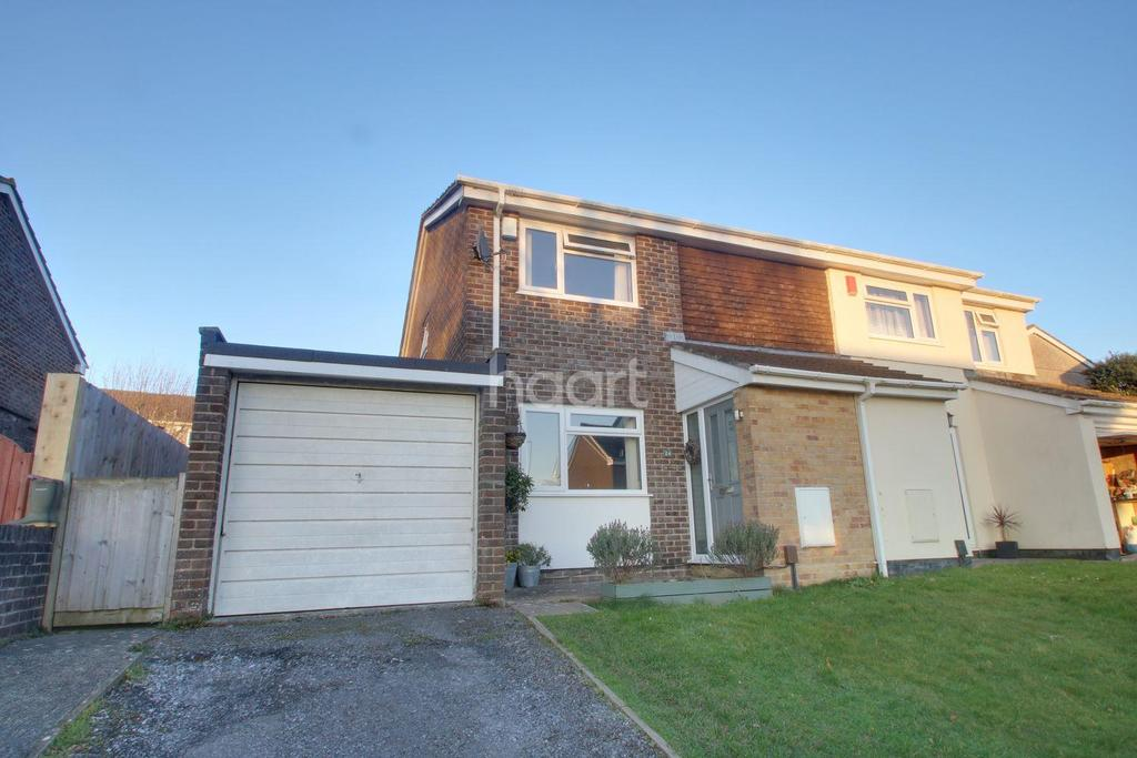 3 Bedrooms Semi Detached House for sale in Beckford Close, Plympton