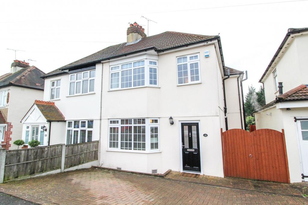 4 Bedrooms Semi Detached House for sale in Westwood Avenue, Brentwood, Essex, CM14