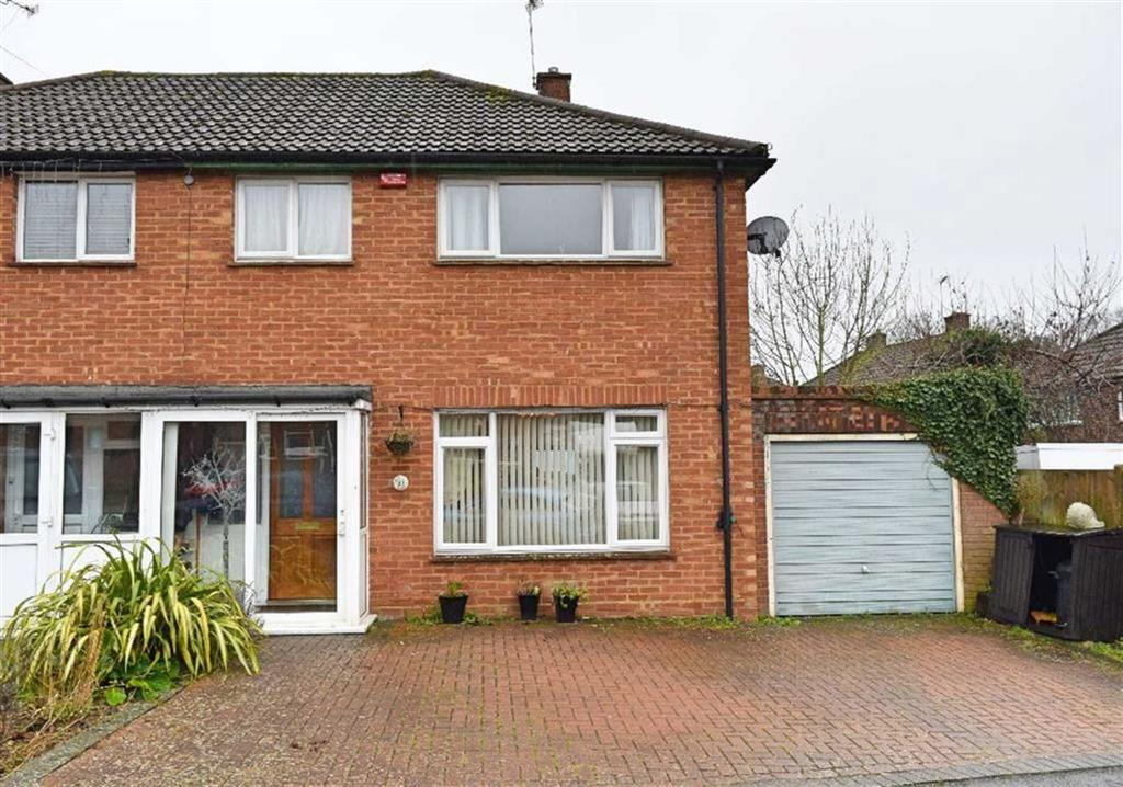 3 Bedrooms Semi Detached House for sale in Boleyn Road, Kemsing, TN15