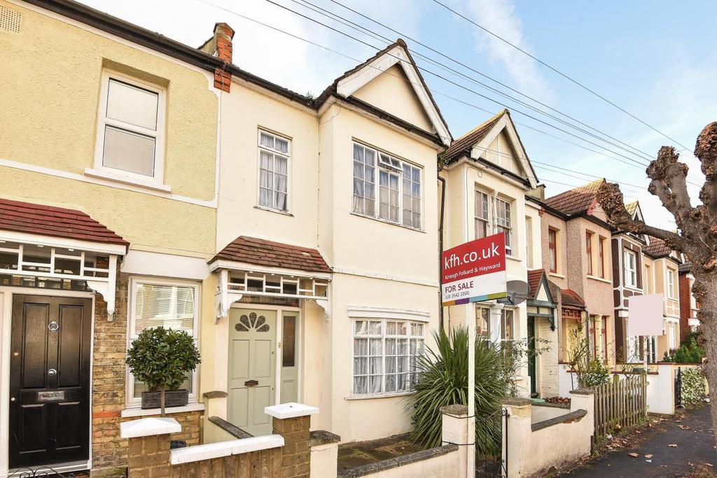3 Bedrooms Terraced House for sale in Edna Road, Raynes Park