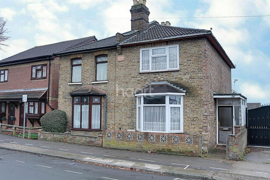 3 Bedrooms Semi Detached House for sale in Globe Road, Hornchurch, RM11