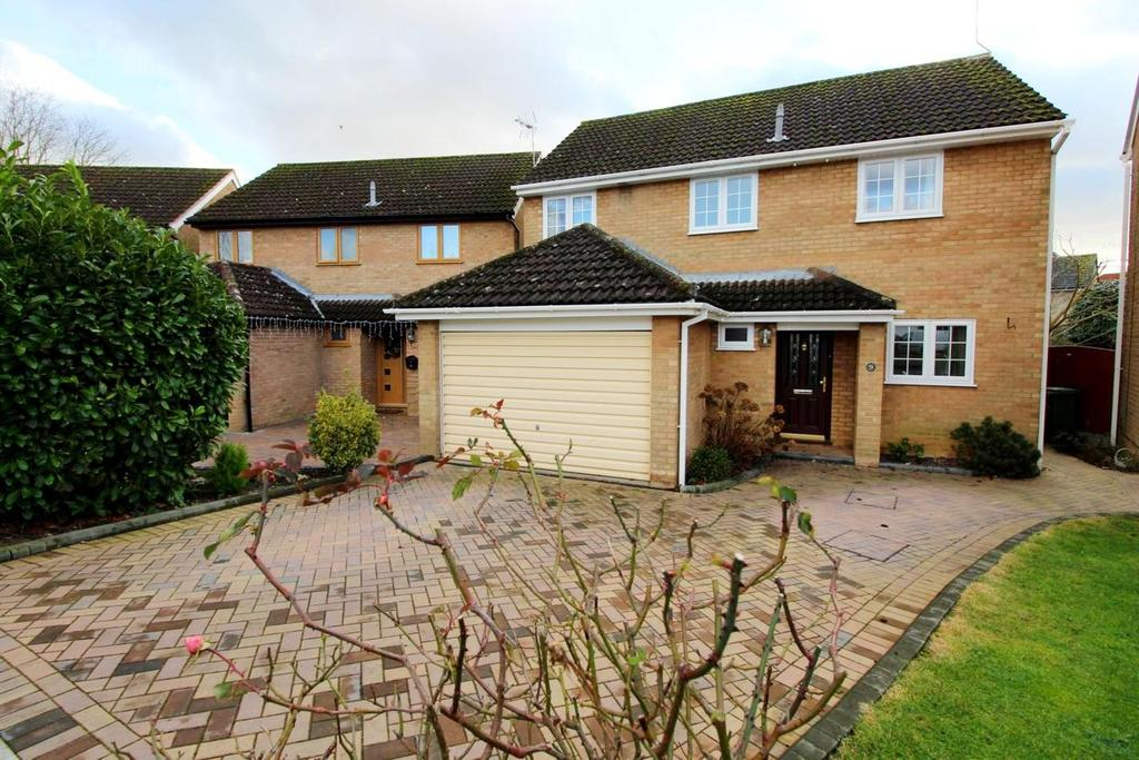 4 Bedrooms Detached House for sale in The Paddocks, Witham, Essex, CM8