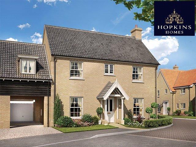 4 Bedrooms Link Detached House for sale in Alconbury Weald, Alconbury, Huntingdon, Cambridgeshire, PE28