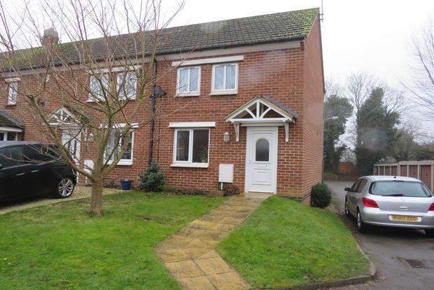 2 Bedrooms Semi Detached House for sale in Millers Close, Kislingbury, Northampton, NN7