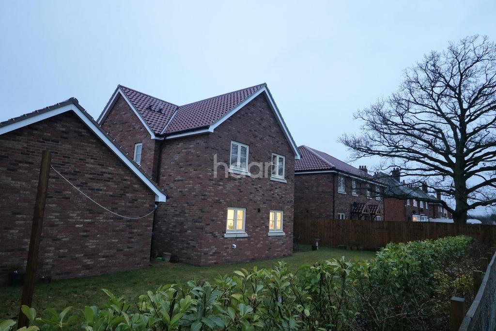 4 Bedrooms Detached House for sale in The Oaks, Wickham Market