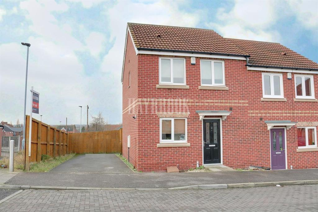 2 Bedrooms Semi Detached House for sale in Joseph Street, Grimethorpe