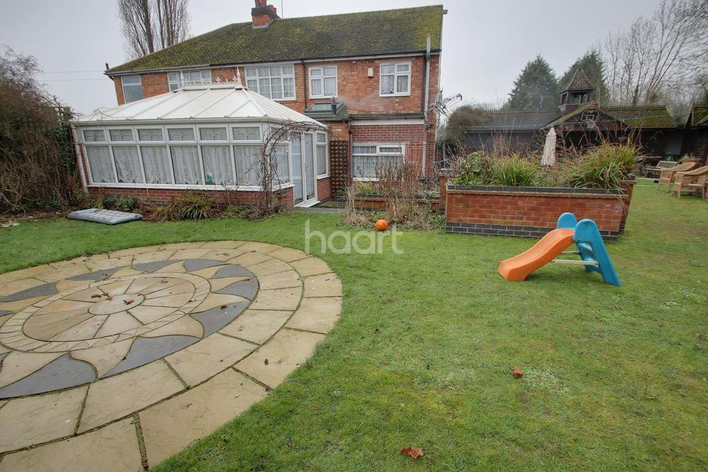 4 Bedrooms Semi Detached House for sale in The Twitten, Glen Parva, Leicester